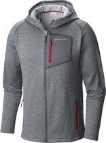 Columbia Jackson Creek  II Hoodie Vest - Heren - Graphite / Mountain Red