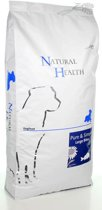 Natural Health Droogvoer Hondenvoeding Natural Health Dog Fish & Rice Large Bite single proteïn - premium