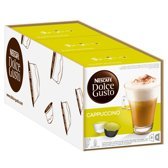 Dolce Gusto Cappuccino Cups - 3 x 8