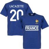 Frankrijk Lacazette Team T-Shirt - XXXL