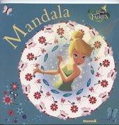 Mandala kleurboek voor kids (geel/blauw) - Disney Fairies