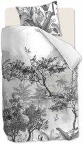 Beddinghouse Brazil - Dekbedovertrek - Katoen - 140x200/220 cm - Zwart Wit
