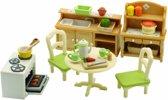 Sylvanian Families accessoires Dining Room set 2951