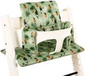 UKJE.NL Geplastificeerd Stokke TrippTrapp kussen stoelverkleiner kussenset - Toekan ♥