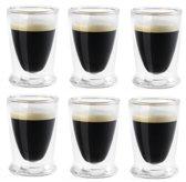 Hovac G10 dubbelwandig espressoglas 10cl (set van 6)