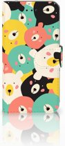 iPhone X | Xs Bookcase met ruimte voor pasjes Bears