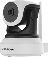 IP Camera HD Roterende Beveiligingscamera - Bewegingssensor & Infrarood Functie - 1080p Full HD