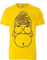 Logoshirt T-Shirt Homer Simpson - The Simpsons