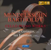Mendelssohn: Cello Piano Works 1-Cd