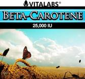 VitaTabs Bèta Caroteen 15 mg / 25,000 IE - 100 softgel - Voedingssupplementen