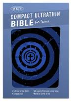 NKJV Compact UltraThin Bible for Teens, Black and Silver