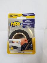HPX Self Fusion vulcaniserende tape zwart