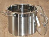Kinghoff  Soeppan 11 ltr - Met deksel - Ø 26 cm