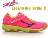 Mizuno Lightning Junior maat 34 roze