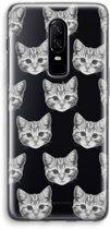 OnePlus 6 Transparant Hoesje (Soft) - Kitten