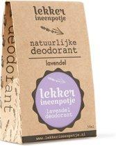 LEKKER IN EEN POTJE natuurlijke deodorant – Lavendel – 30 ML