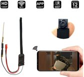 TKSTAR FHD 1080P 1.2MP 25FPS Draadloze Draagbare WiFi Spy Camera Nachtzicht Bewegingsdetectie Gratis APP