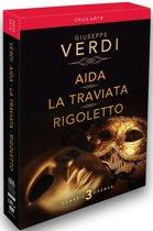 Aida, Traviata, Rigoletto