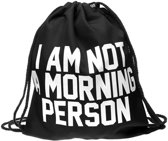 Zumprema I'm not a morning person - Gymtas - Zwart