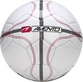 Avento Voetbal Glossy - League Defender II - Wit/Antraciet/Paars - 5
