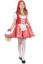 Roodkapje kostuum voor meisjes  - Kinderkostuums - 122/134