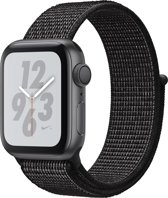 Apple Watch Series 4 Nike+ - 40 mm - Spacegrijs met grijze Nylon  sportband