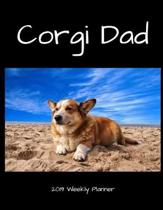 Corgi Dad 2019 Weekly Planner