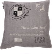 In The Mood Howelsen Tweed Sierkussen - Ecru