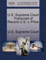 U.S. Supreme Court Transcript of Record U.S. V. Price