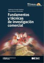 Fundamentos y técnicas de investigacion comercial