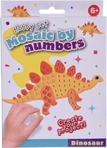 Free And Easy Mozaïekkunst Dinosaur 5-delig