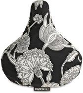 Basil Blossom Botanica 50335 - Zadel Cover - Zwart