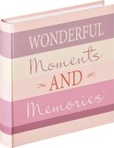 Walther Moments - Fotoalbum - 30x30 cm - 100 pagina's - Design Wonderful