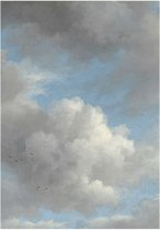 Golden age clouds, fotobehang van KEK Amsterdam, WP-392, 4 baans behang
