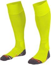 Stanno Uni II Voetbal  Sportsokken - Maat 36 - Unisex - neon geel/grijs/oranje Maat 36-40