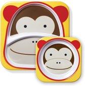 Zoo Melamine Set Monkey