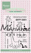 Marianne Design Stempel Elines giraffe EC0169