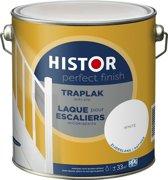 Histor Perfect Finish Traplak anti-slip Wit Zijdeglans 2,5 Liter