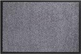 Deurmat Schoonloopmat Twister grijs 90x150cm