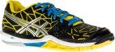 Asics Gel-Fireblast Indoorschoenen Dames Sportschoenen - Maat 40.5 - Vrouwen - zwart/geel/blauw