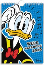 Donald Duck Weekplanner 2020