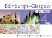 Edinburgh and Glasgow PopOut Map