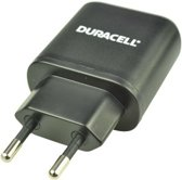 Duracell 230V Charger Type-C&Type-A 3 0A Shared (excl cable) Black
