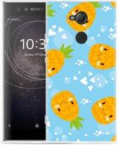 Sony Xperia XA2 Ultra Hoesje Love Ananas