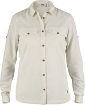 Fjallraven Abisko Vent Shirt LS - dames - blouse lange mouwen - maat M - beige