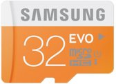 Samsung Evo micro SD kaart 32 GB + SD adapter