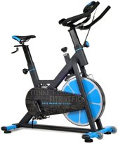 FitBike Race Magnetic Home - Spinningfiets - Zwart/Blauw