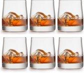 Libbey Whiskyglas – Gles – 28 cl / 280 ml - 6 stuks - hoge kwaliteit - luxe design - vaatwasserbestendig