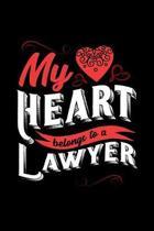 My Heart Belongs to a Lawyer