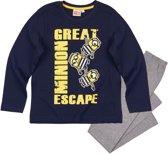 Minions-Pyjama-marineblauw-maat-140